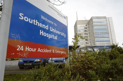 Under scrutiny: Southend Hospital