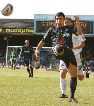 Kevin Maher - backing Southend United to win promotion