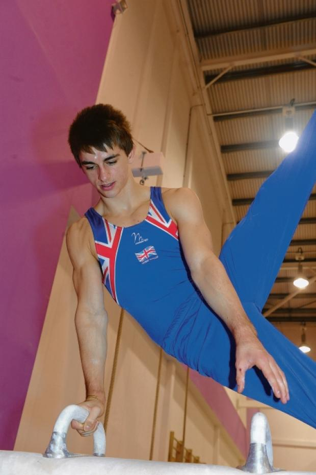 Max Whitlock - training at Basildon Sporting Village with South Essex Gymnastics Club