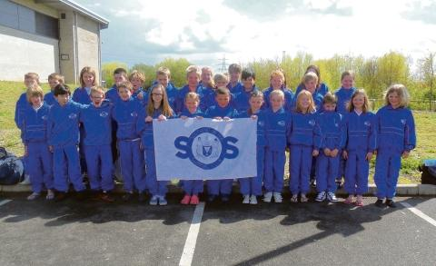 Great team – some of the talented youngsters from Southend-on-Sea Swimming Club