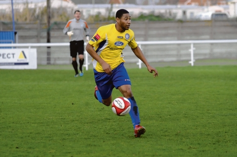 Blast from the past - Ashley Miller playing for Concord Rangers in November 2011