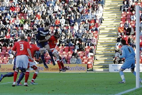 Bilel Mohsni heads over for Blues