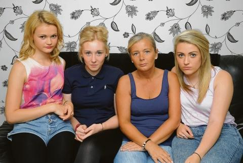 Disgusted –  Danielle Hargrave, Casey Edwards, Tina Edwards and Jodie Preston