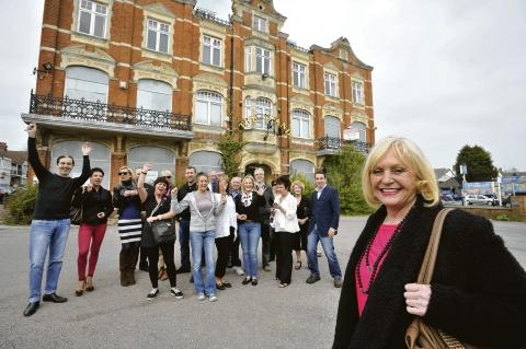 Expanding ideas – local traders show their support for the hotel to be refurbished