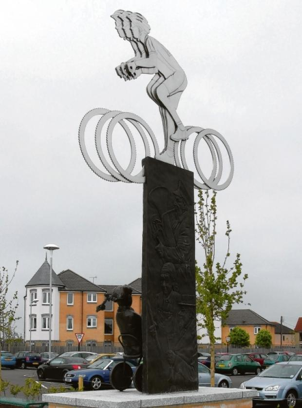 Controversial subject – the cycling sculpture