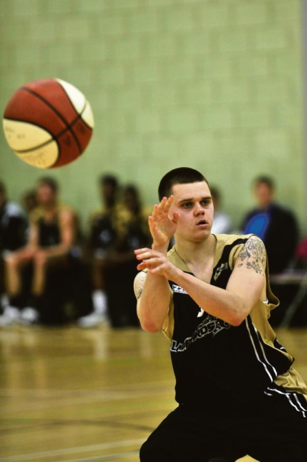Lukas Volskis - back in action for Essex Leopards this weekend