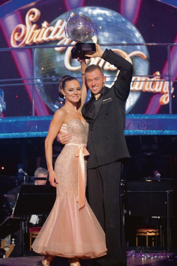 Partners on and off stage – Kara Tointon and Artem Chigvintsev