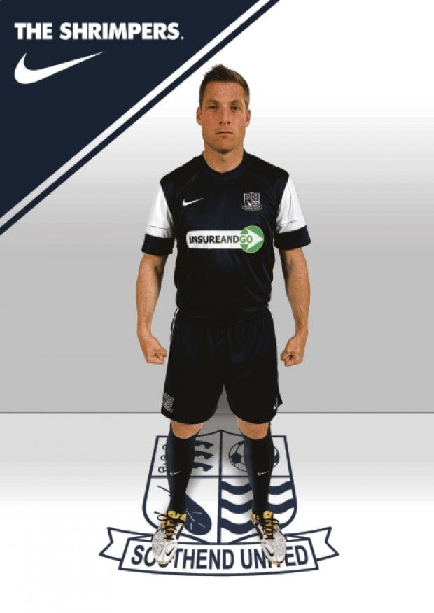 Neil Harris in Blues' new home kit