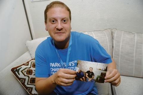 Seven Sisters walker David Harley who is raising money for Parkinson's UK