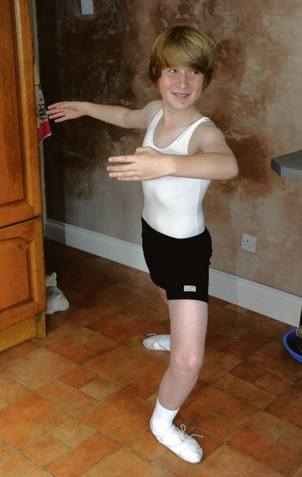 Ballet break – Canvey dancer Thomas Diss