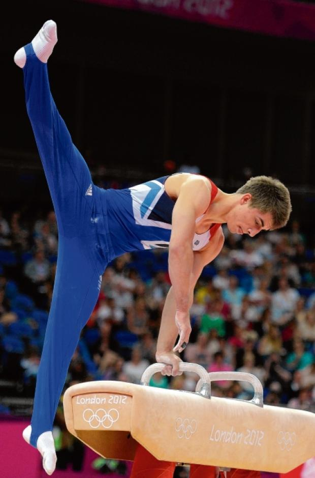 Max Whitlock in action at London 2012.