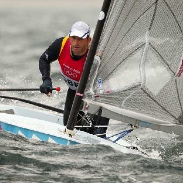 Ben Ainslie, pictured, praised Jonas Hogh-Christensen for his victory but remains confident