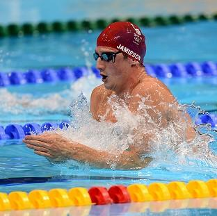 Michael Jamieson beat his own British record in the semi-finals