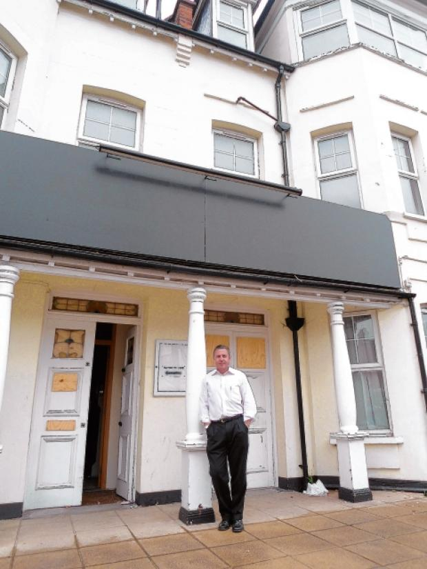 David Mead – partner in the Balmoral Hotel, Westcliff