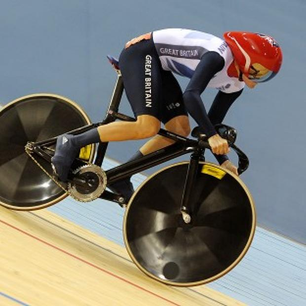 Victoria Pendleton qualified quickest for the women's sprint in 10.724 seconds