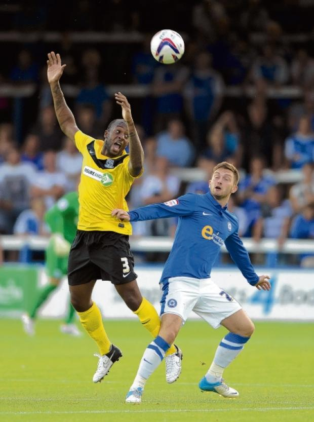 Anthony Straker - joined Blues from Aldershot during the summer