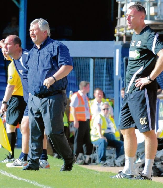 Blues boss Paul Sturrock - felt his side were unlucky to lose