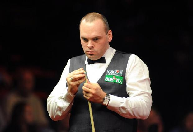Honours even — Stuart Bingham was held to a 3-3 draw by Shaun Murphy as the Vange potter made his Premier League debut