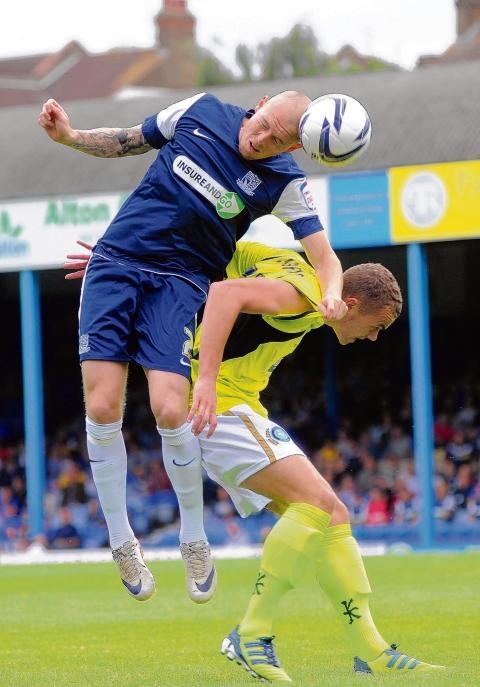 Sean Clohessy - captained Southend United against Rotherham United on Saturday