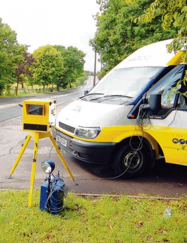 Thing of the past – one of the mobile speed camera vans used by Essex Police