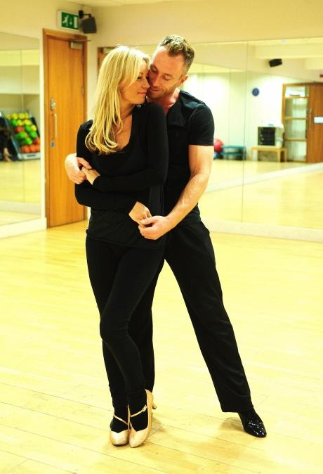 Denise and dance partner James Jordan