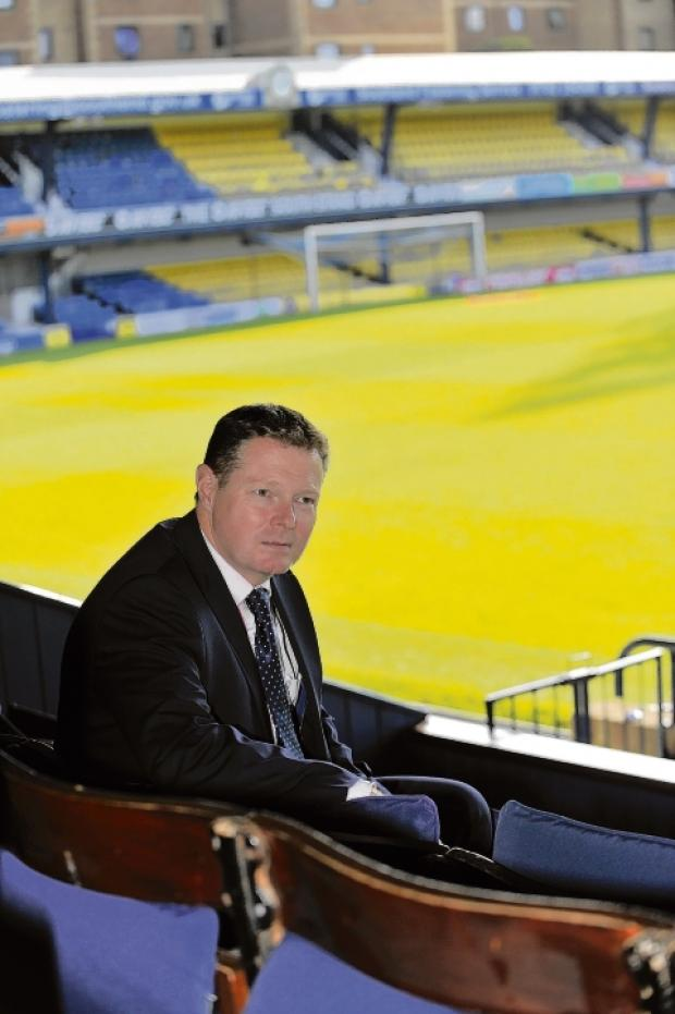 Steve Kavanagh - Blues' new chief executive
