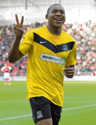 Britt Assombalonga to stay at Blues until end of season