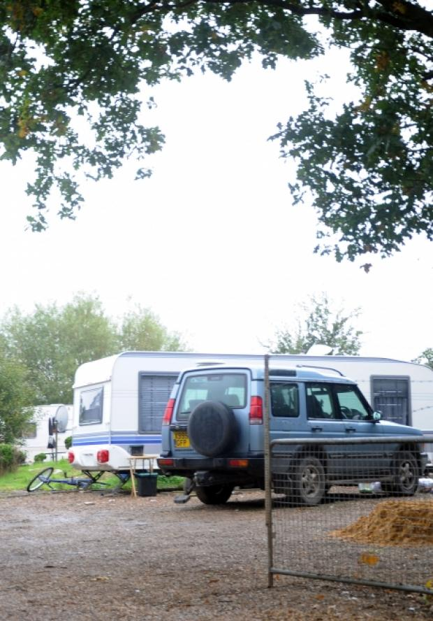 Travellers site in Thundersley