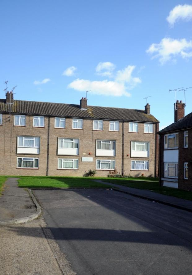 Council flats at Merrivale in Benfleet