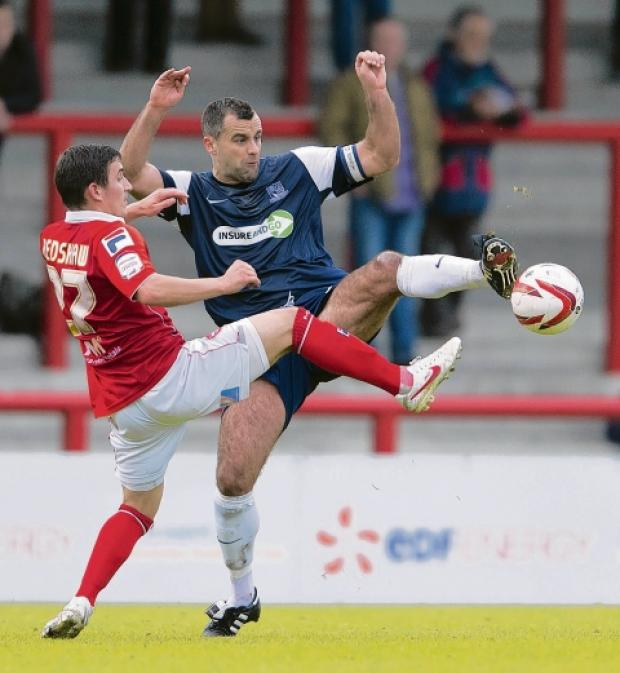 Chris Barker - doubtful for the JPT final against Crewe Alexandra