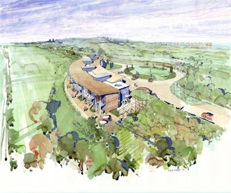 An artist impression of the proposed new hospice