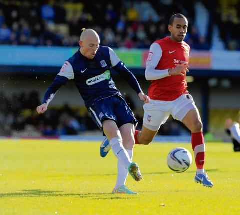 Sean Clohessy - will make his 150th appearance for Southend United on Saturday
