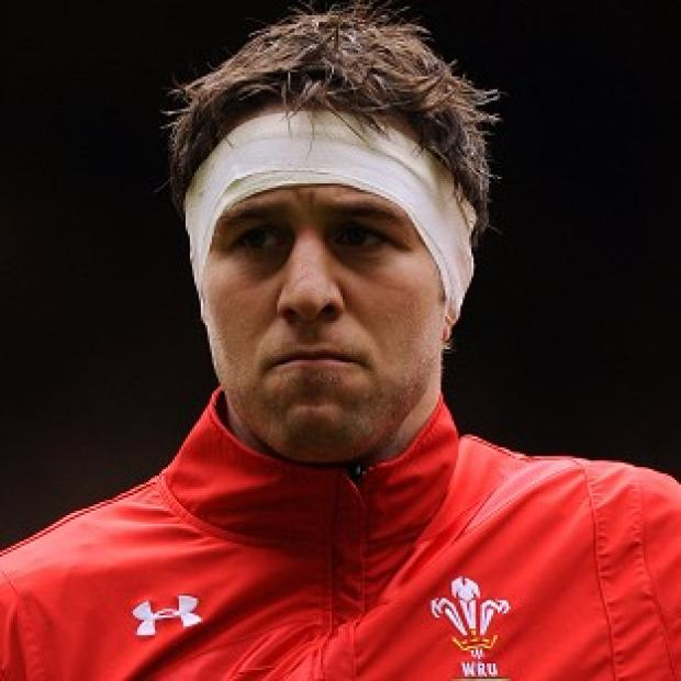 Ryan Jones has left Wales' training camp with an 'irritable shoulder'