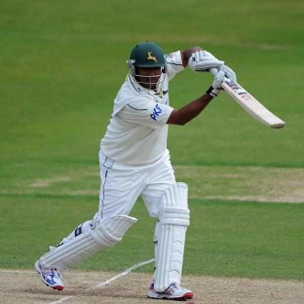 Samit Patel hit his maiden Test century against India A on Thursday