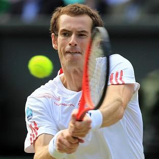 Andy Murray, pictured, suffered defeat to Jerzy Janowicz in the BNP Paribas Open