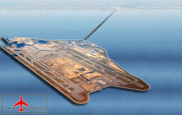 How the new airport might look...
