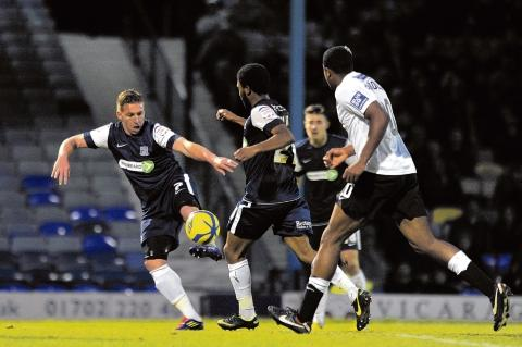 Freddy Eastwood - bagged Blues' third goal