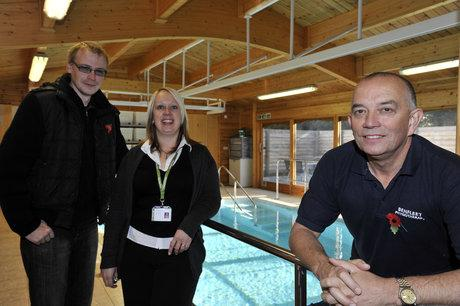 Benfleet physiotherapist helps charity re-open hydrotherapy pool