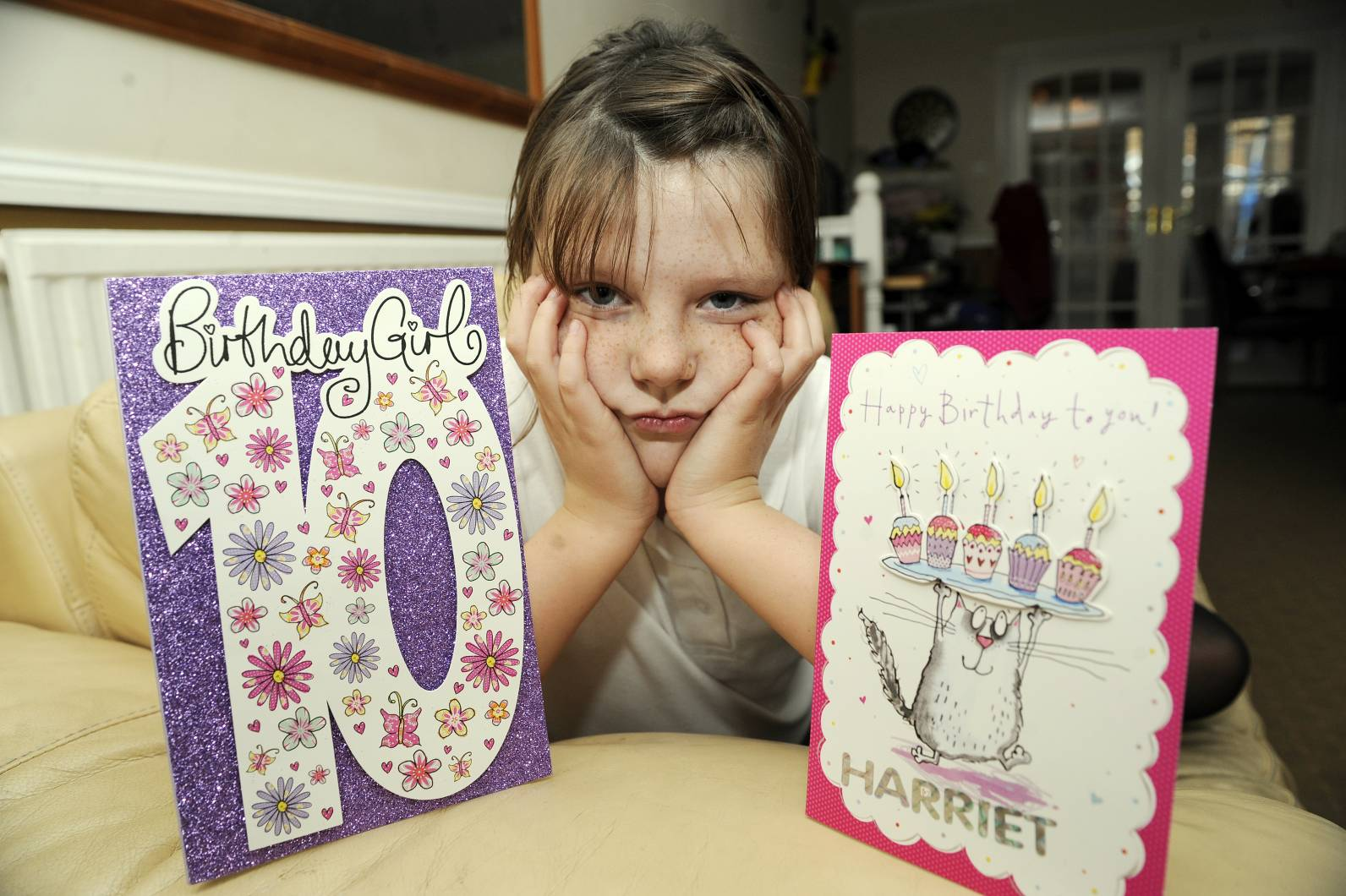 Schoolgirl has birthday presents stolen