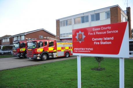 Canvey fire station