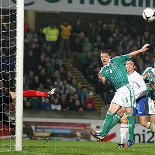 Northern Ireland were guilty of some glaring misses against Azerbaijan