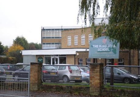 Expansion plans - The King John School, in Shipwrights Drive, Thundersley