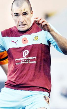Dean Marney - has helped Burnley win promotion to the Premier League this season