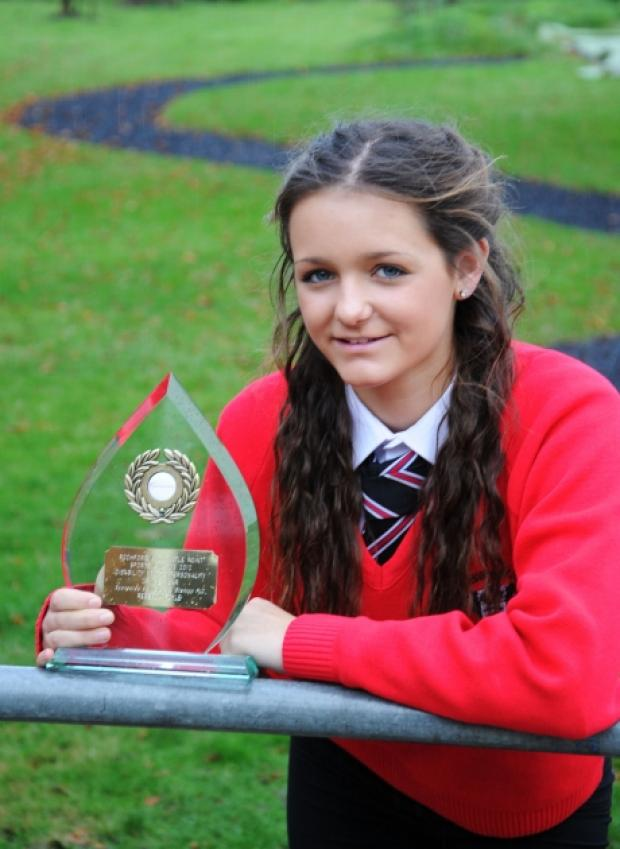 Rebecca wins Rochford disability award