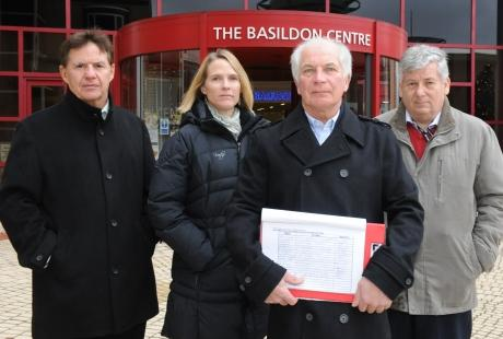 387-name petition opposes plans for KFC in Laindon