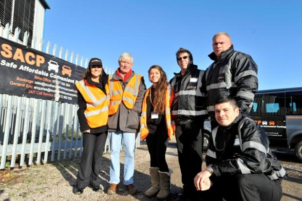 Echo: The team at Southend Airport Car Park