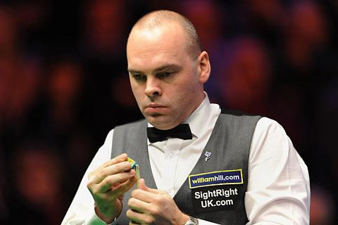 Stuart Bingham lost 6-2 in the Masters