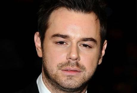 Danny Dyer filming at Southend Airport this Thursday