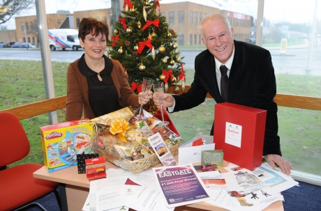 David and Janet Chantler, the Echo competition winners