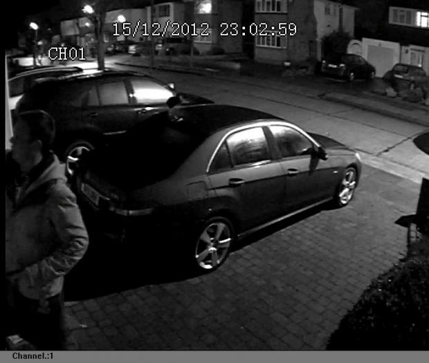 Armed thief steals Christmas decorations